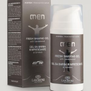 Men Shooting Shaving Gel