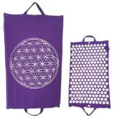 Spike mat Flower of Life paars