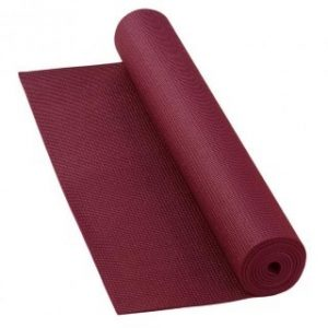 Yoga mat bordeaux