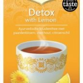 Yogi Detox with Lemon Tea